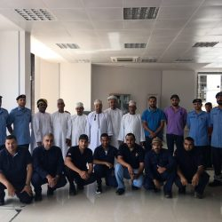 الهيئة العامة للكهرباء والمياه تؤهل موظفيها للتعامل مع حالات الطوارئ في بيئة العمل
