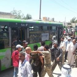 عاجل: بدء عملية أجلاء المدنيين و مسلحي المعارضة من حلب