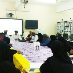 اللجنة المركزية لمتابعة التحصيل الدراسي تزور مدارس محافظة الوسطى