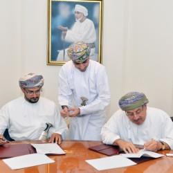 بلدية مسقط توقع اتفاقية لخصخصة مسلخي العامرات والسيب