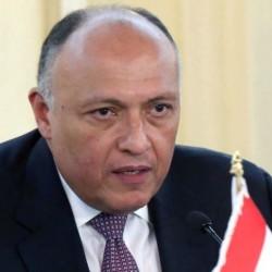 وزير خارجية مصر يشيد بالدعم الملموس لجلالة السلطان في تحقيق السلام والإستقرار للوطن العربي والدولي
