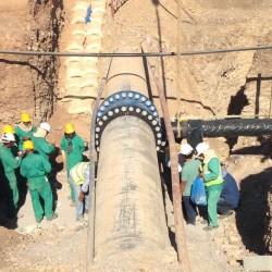 الهيئة العامة للكهرباء والمياه تنهي اعمال الربط الاستراتيجية في محافظة الداخلية خلال 12 ساعة